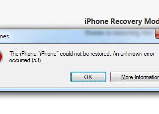 Error 53. Fixed in IOS 9.2.1.